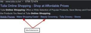 Site Extension